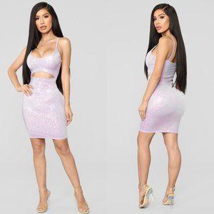 Fashion Nova Mini Cutout bodycon dress